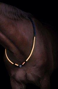 LED Neck Rope -oranje-
